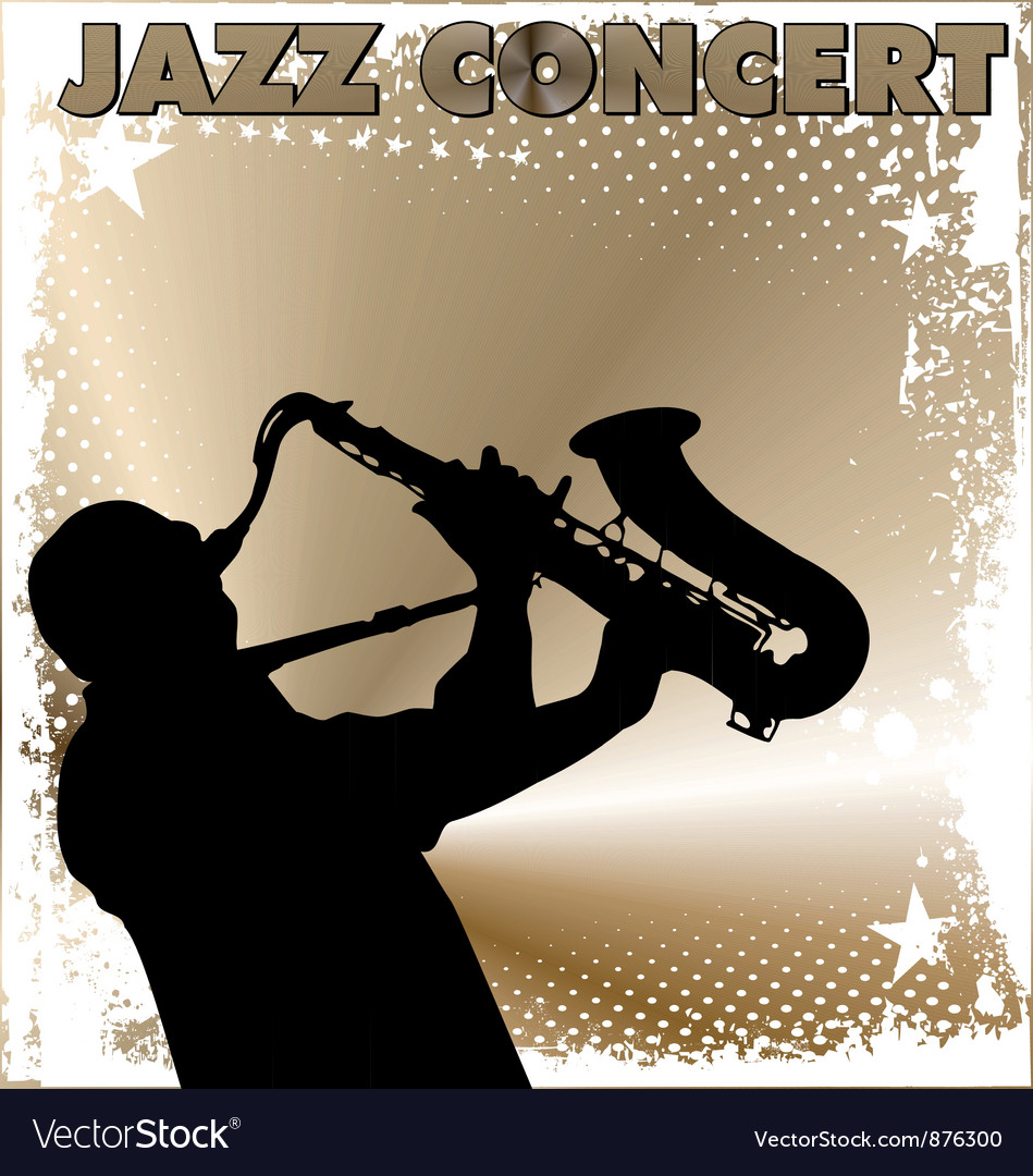 Jazz concert wallpaper vector | Price: 1 Credit (USD $1)