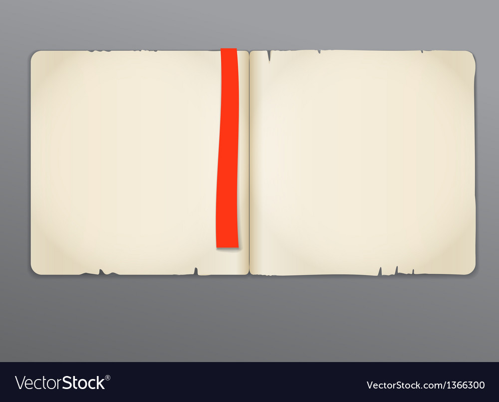 Old opened book vector | Price: 1 Credit (USD $1)