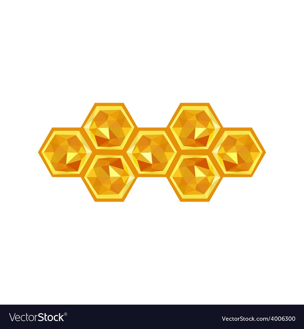 Origami honeycomb vector | Price: 1 Credit (USD $1)