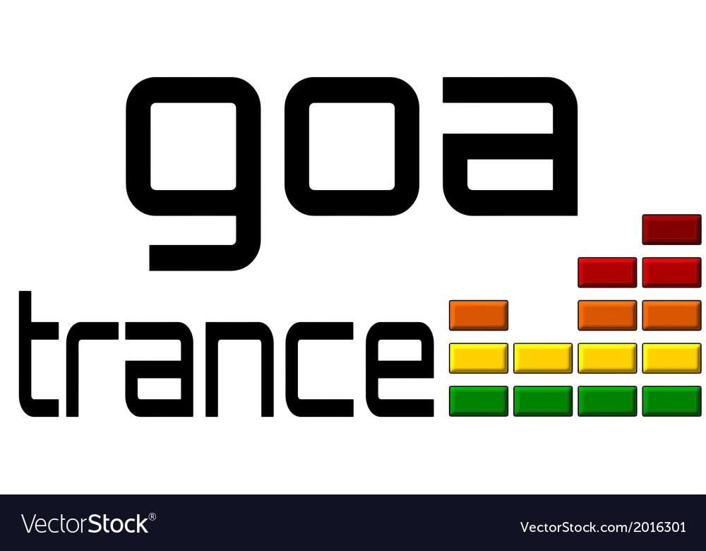 Goa trance dj equalizer music volume - alpha clear vector | Price: 1 Credit (USD $1)
