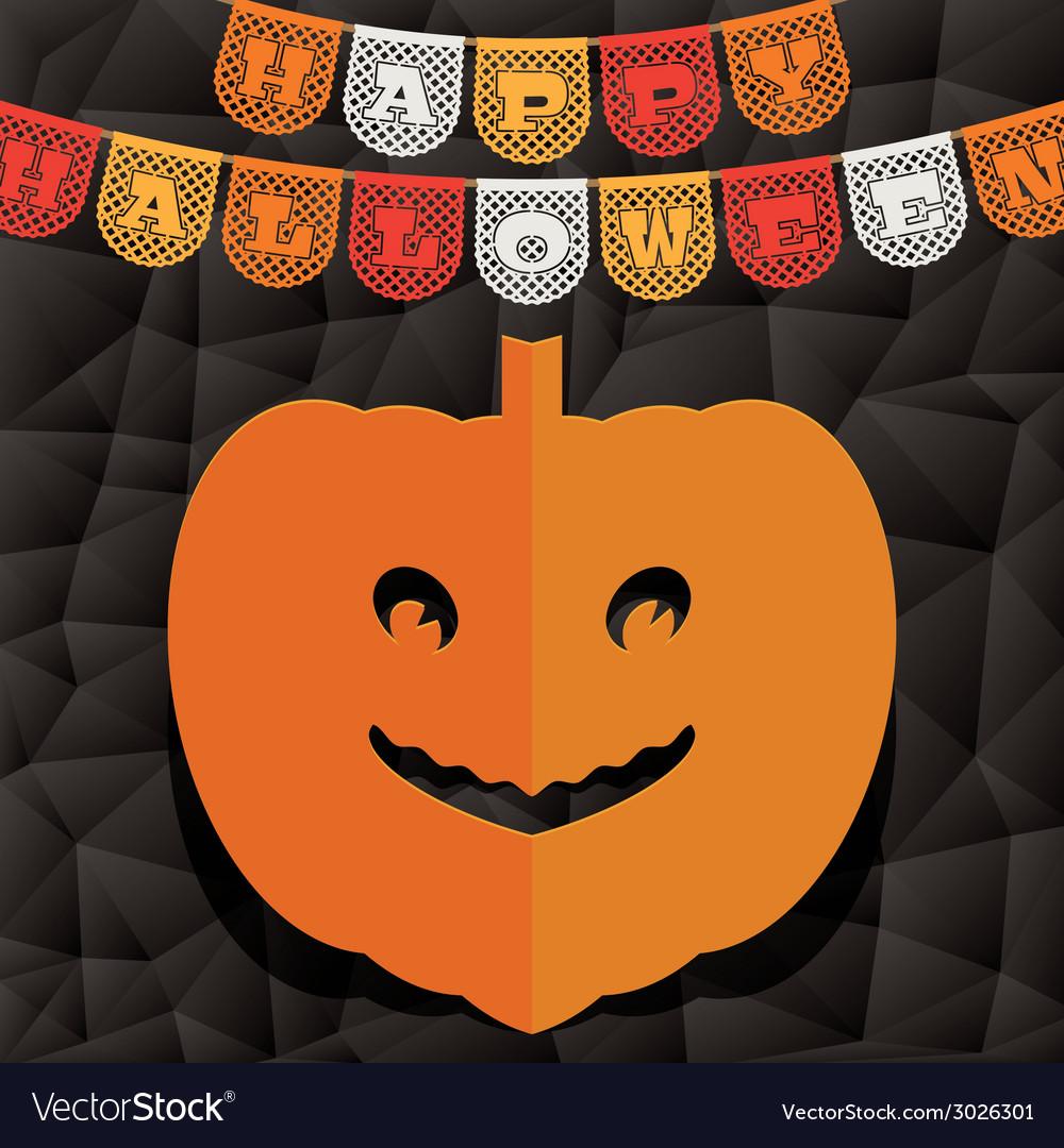 Halloween pumpkin decoration vector   Price: 1 Credit (USD $1)