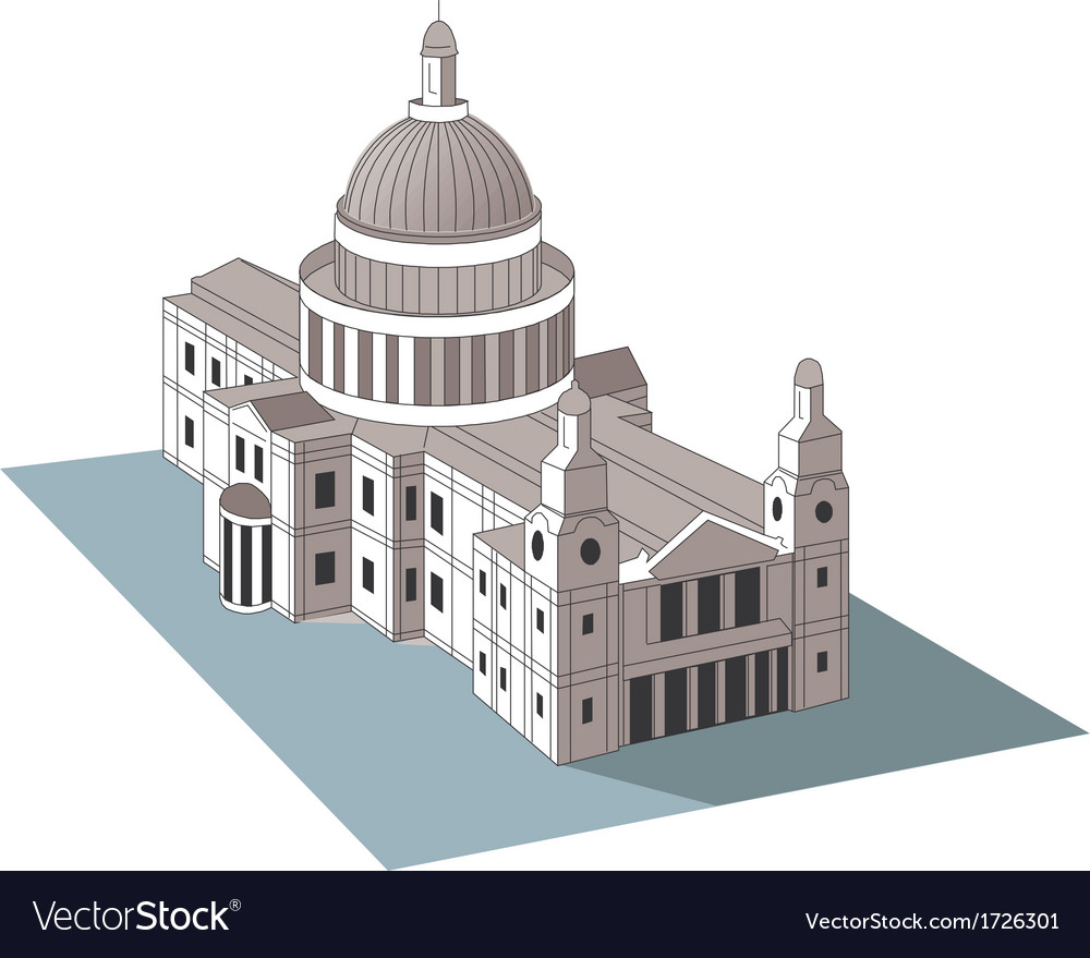 U s capitol dome vector | Price: 1 Credit (USD $1)
