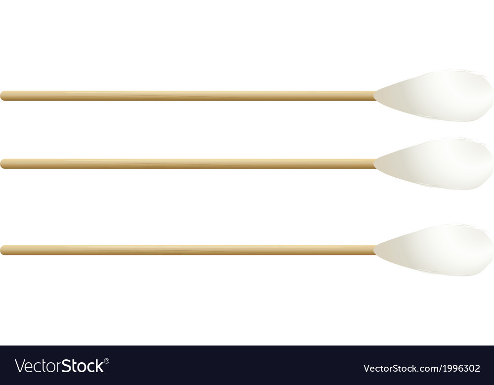 Cotton buds vector | Price: 1 Credit (USD $1)