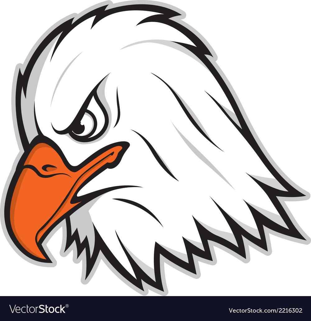 Eagle mascot vector | Price: 1 Credit (USD $1)