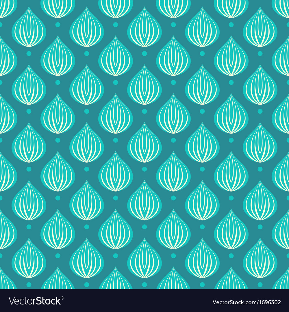 Pattern with bright blue drops on a dark blue vector | Price: 1 Credit (USD $1)