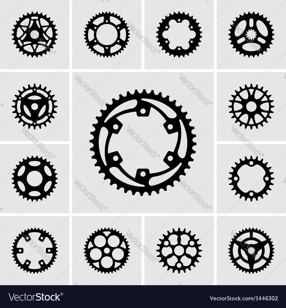 Sprockets vector | Price: 1 Credit (USD $1)