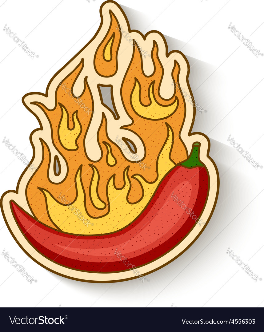Hot chilli vector | Price: 1 Credit (USD $1)