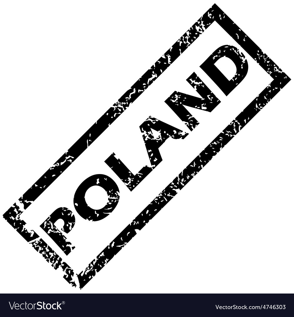 Poland stamp vector | Price: 1 Credit (USD $1)