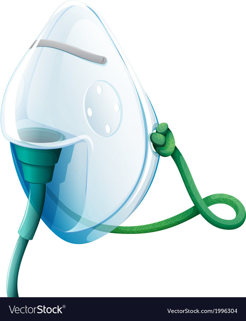 An oxygen mask vector | Price: 1 Credit (USD $1)