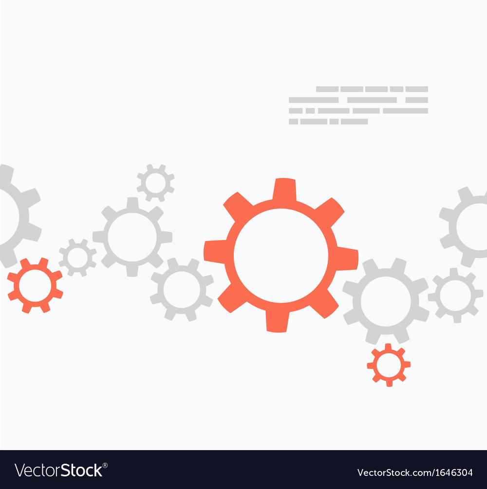 Gears design vector | Price: 1 Credit (USD $1)