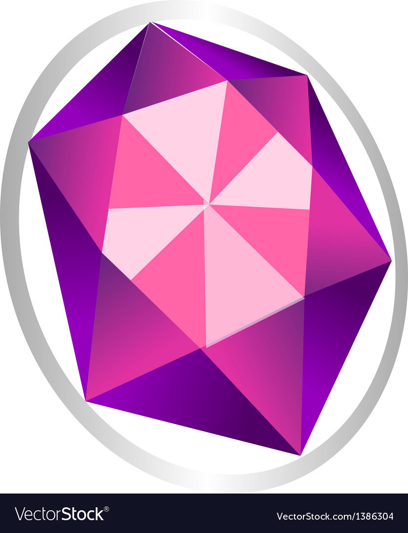Icon jewel vector | Price: 1 Credit (USD $1)