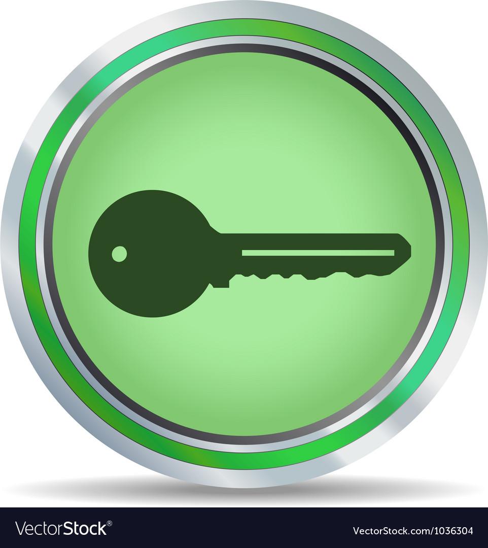 Key icon circle vector | Price: 1 Credit (USD $1)