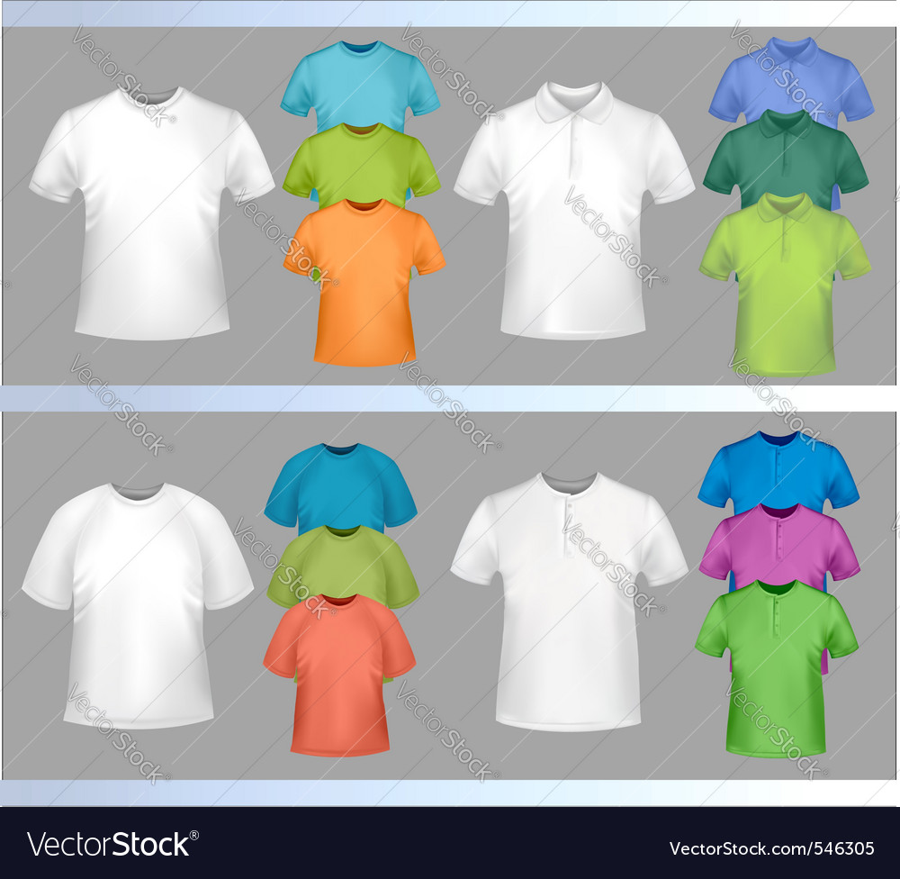 Color tshirt design template vector | Price: 1 Credit (USD $1)