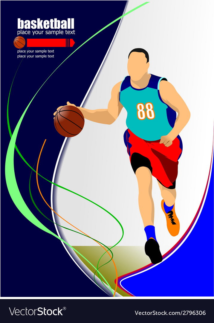 Al 1011 basketball 04 vector | Price: 1 Credit (USD $1)
