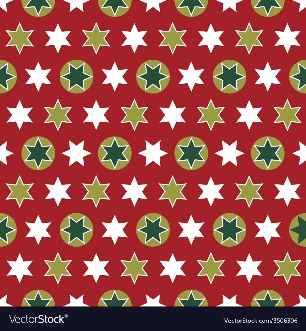 Christmas seamless wrapping paper - repeating vector | Price: 1 Credit (USD $1)