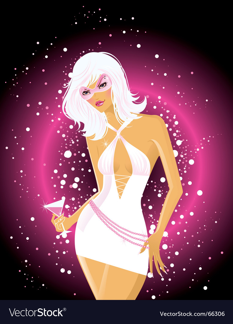 Disco diva vector | Price: 5 Credit (USD $5)