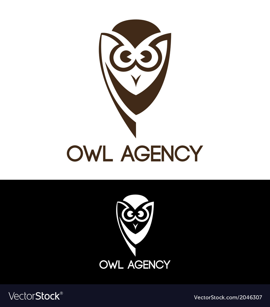 Owl agency vector | Price: 1 Credit (USD $1)