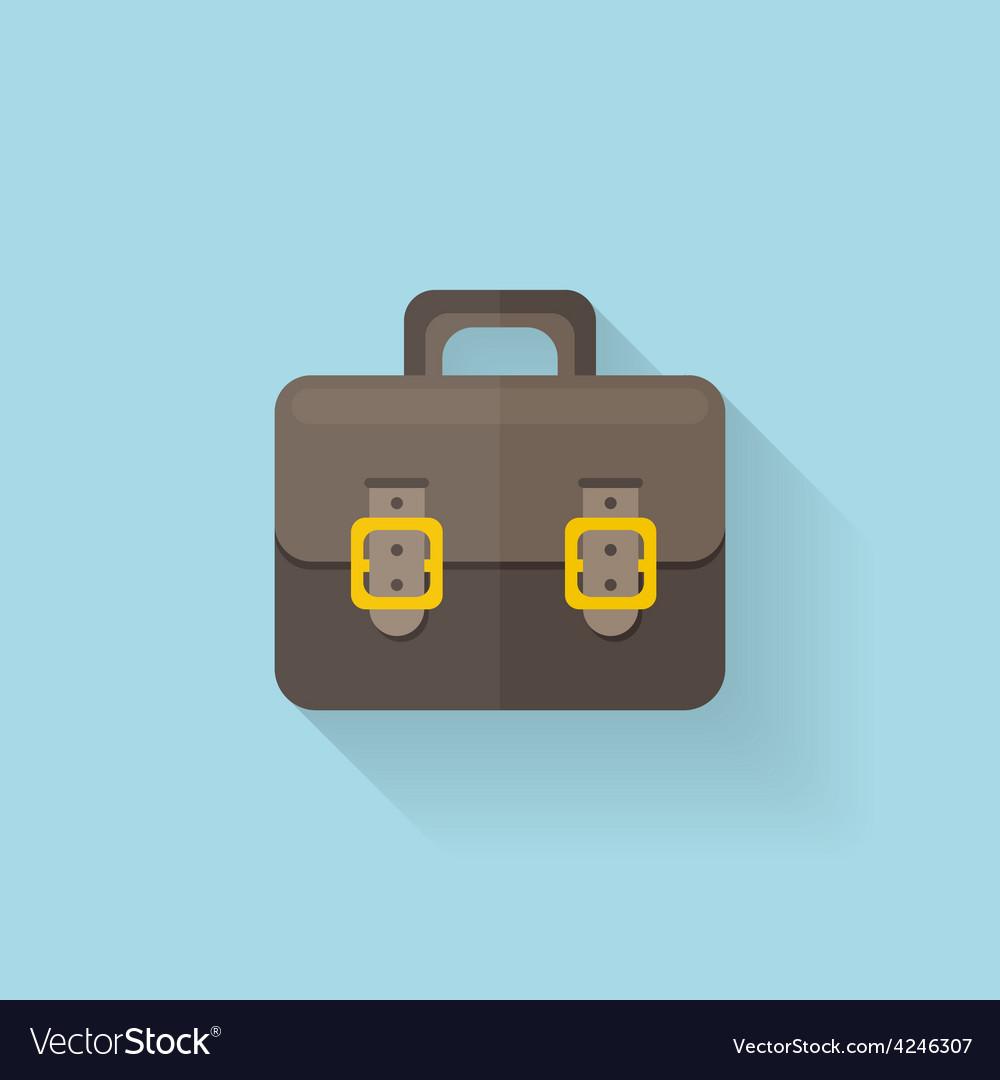 Portfolio flat icon vector | Price: 1 Credit (USD $1)