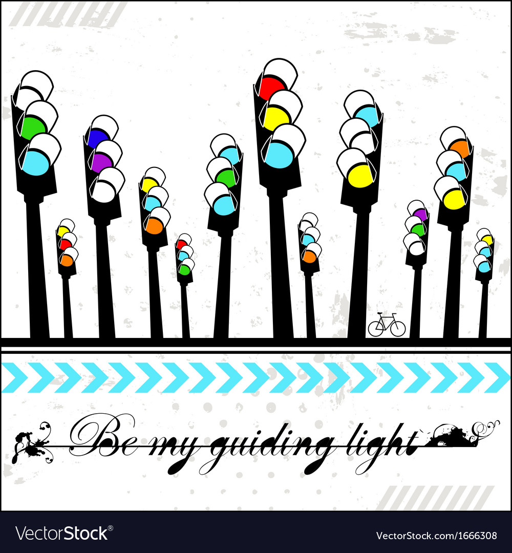 Be my guiding light - card vector | Price: 1 Credit (USD $1)