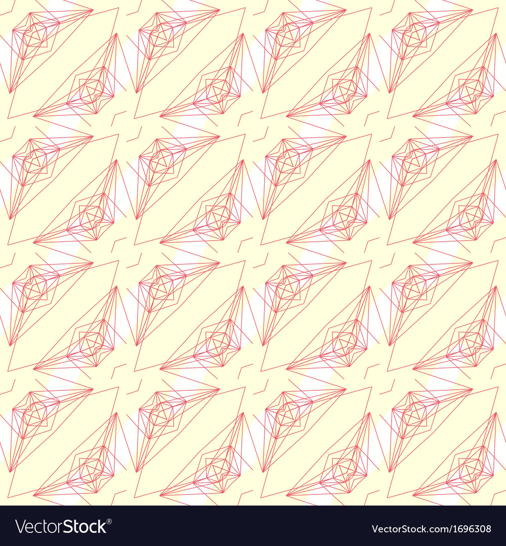 Pattern with graphic geometrical forms vector | Price: 1 Credit (USD $1)