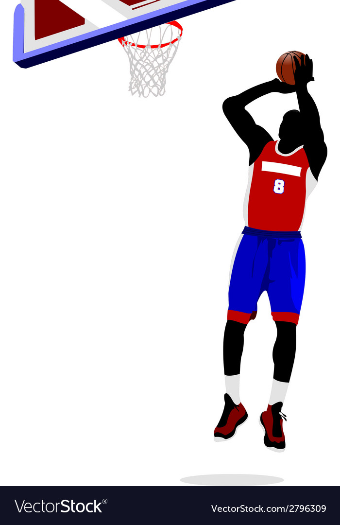Al 1011 basketball 05 vector | Price: 1 Credit (USD $1)