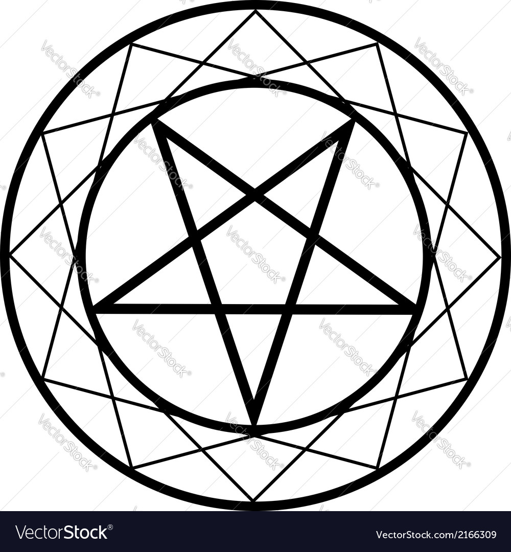 Pentacle vector | Price: 1 Credit (USD $1)