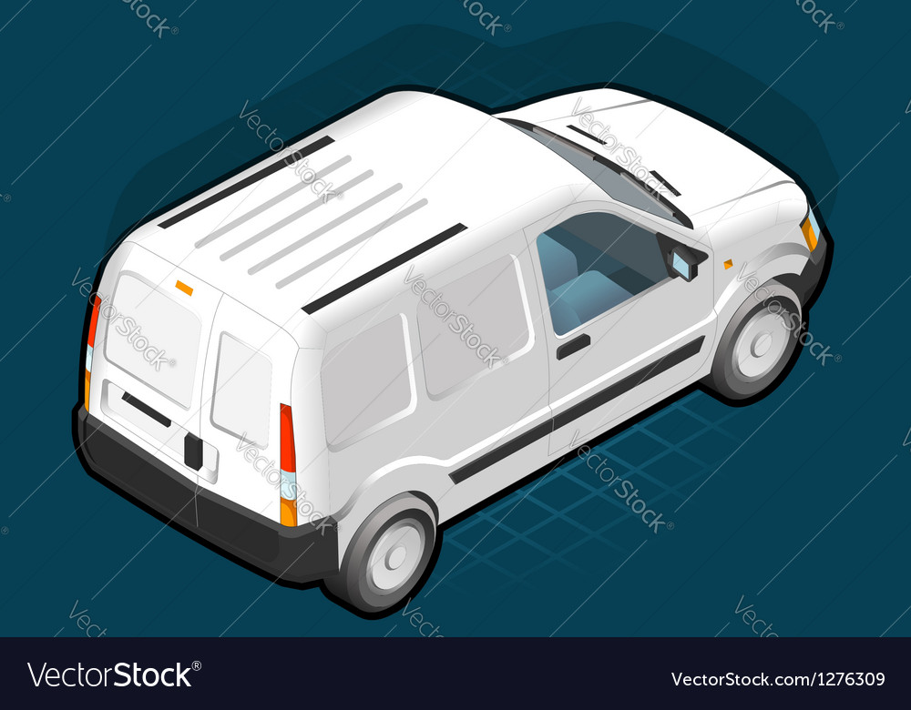 Van vector | Price: 1 Credit (USD $1)