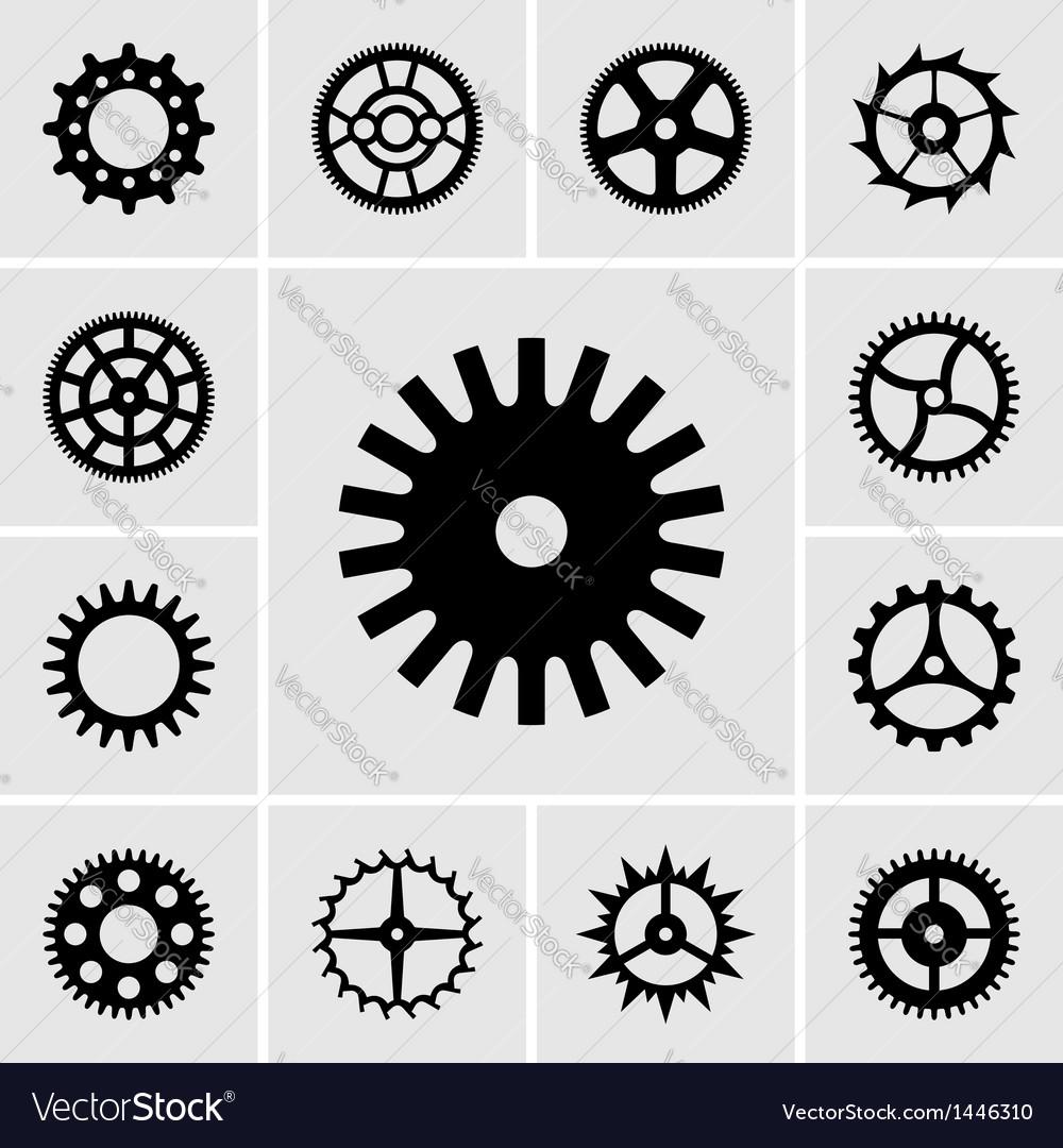 Cogwheels vector | Price: 1 Credit (USD $1)