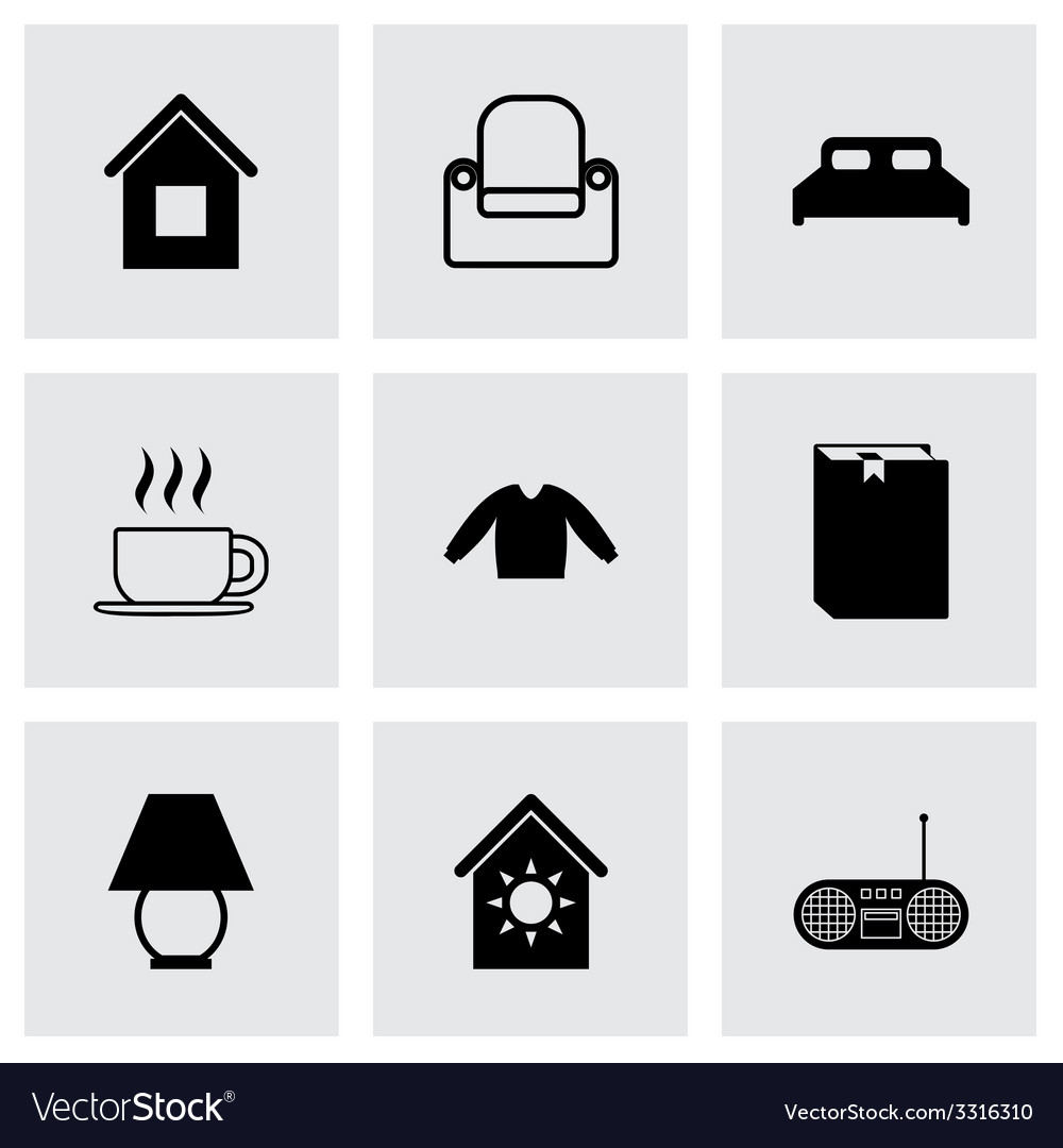 Homey icon set vector   Price: 1 Credit (USD $1)