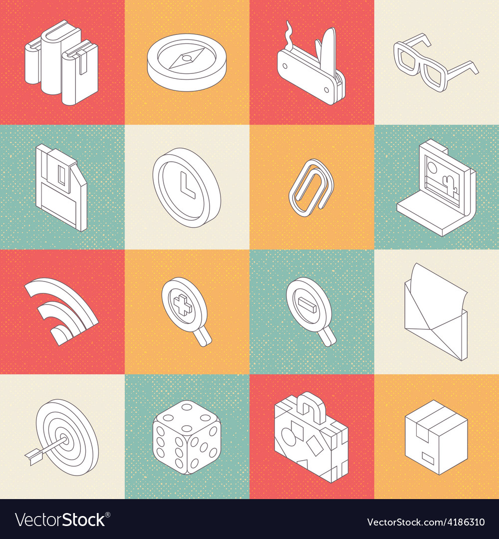 Modern flat icons 3 vector | Price: 1 Credit (USD $1)