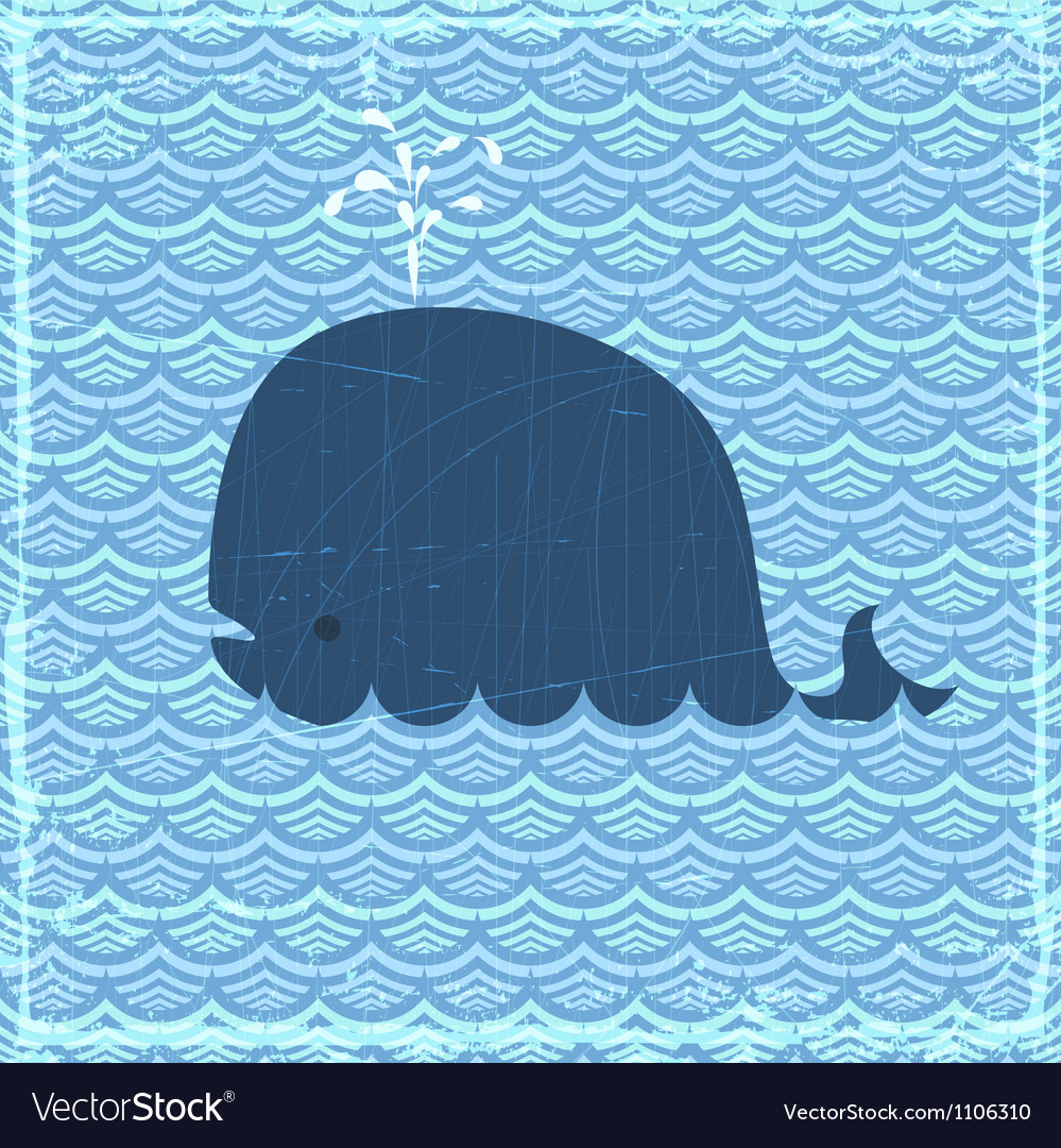 The whale vector | Price: 1 Credit (USD $1)
