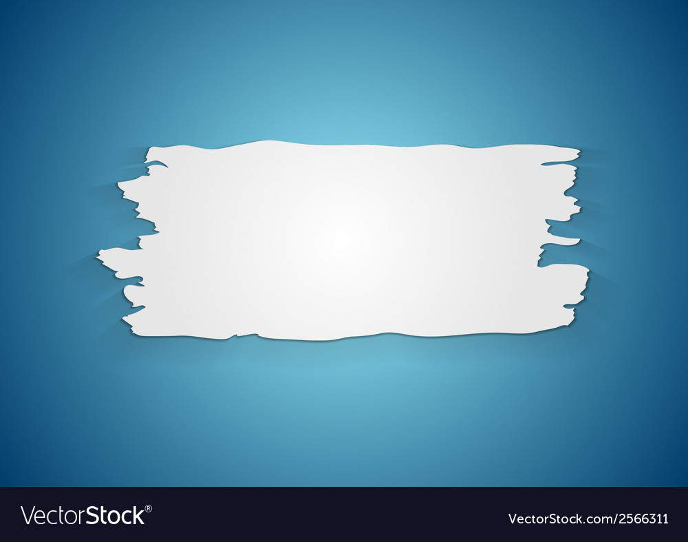 Abstract ragged paper background vector | Price: 1 Credit (USD $1)