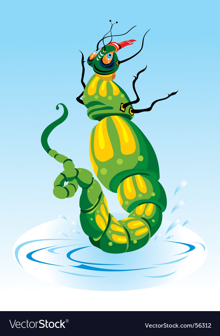 Cartoon insect vector | Price: 1 Credit (USD $1)