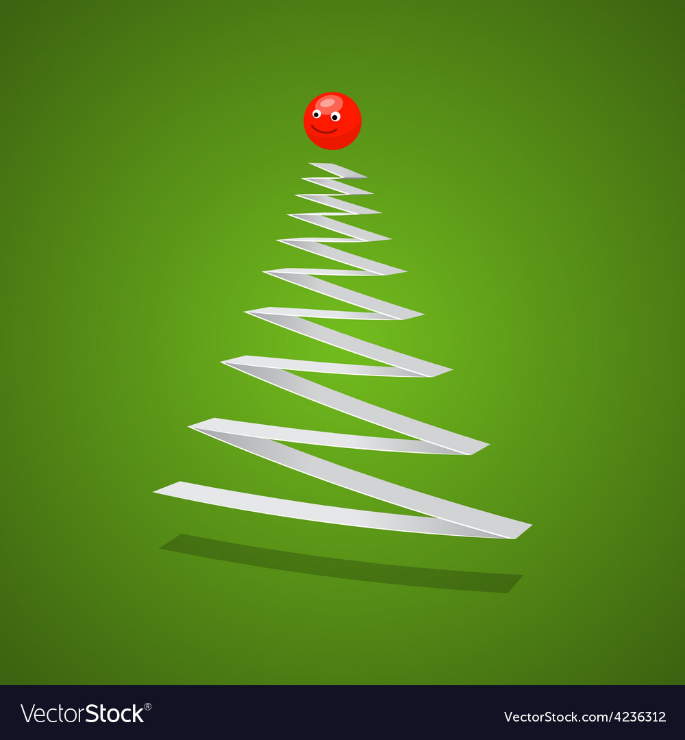 Christmas tree vector | Price: 3 Credit (USD $3)