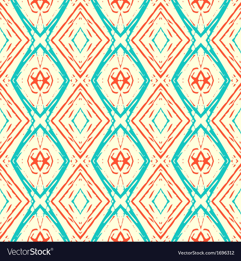 Ikat pattern vector | Price: 1 Credit (USD $1)