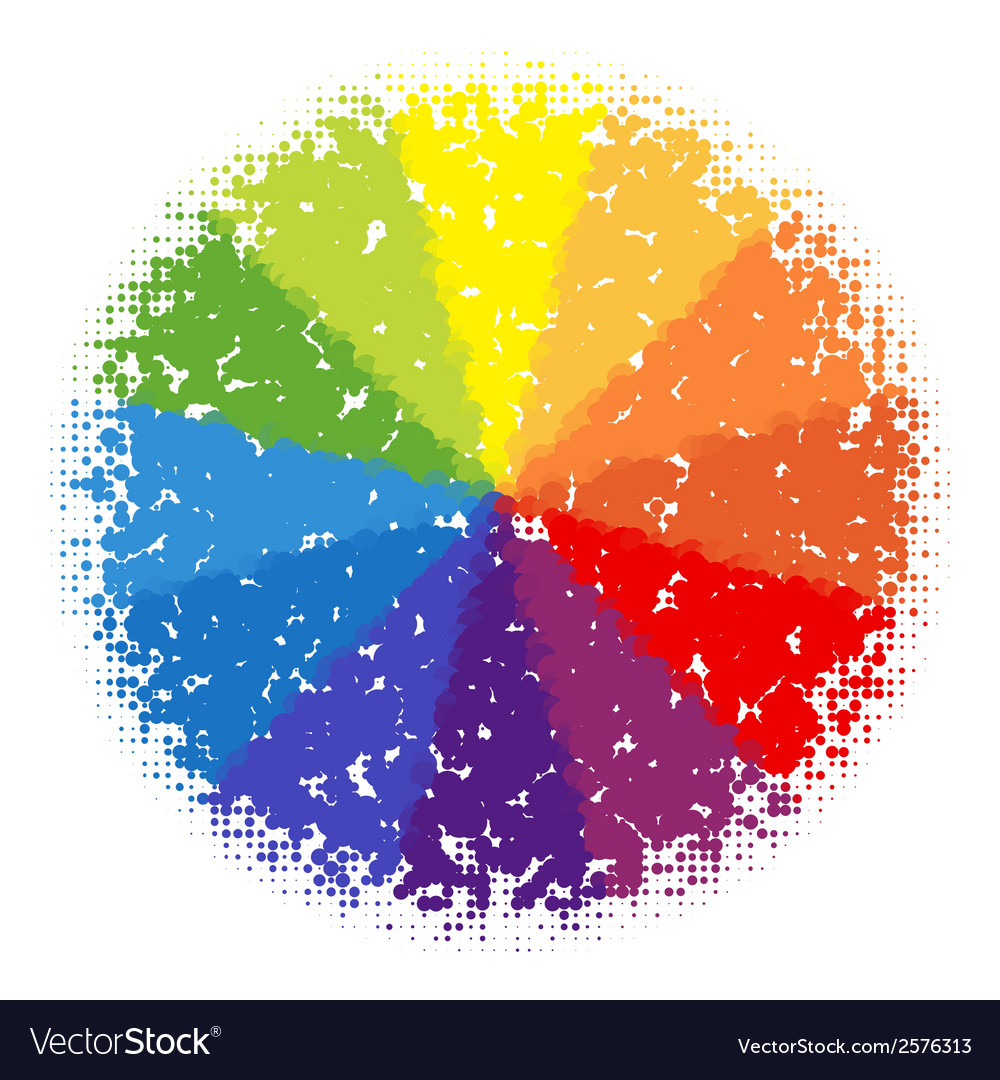 Color wheel vector | Price: 1 Credit (USD $1)