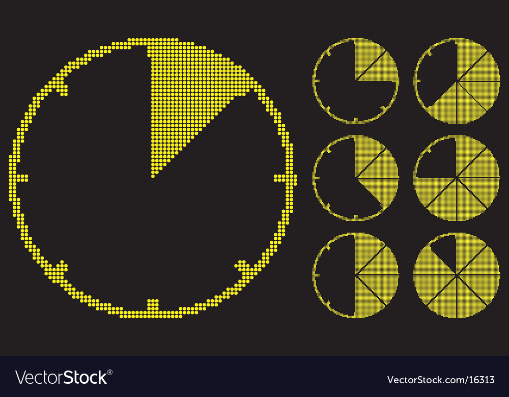 Graph gauges is luminosity tiles vector | Price: 1 Credit (USD $1)