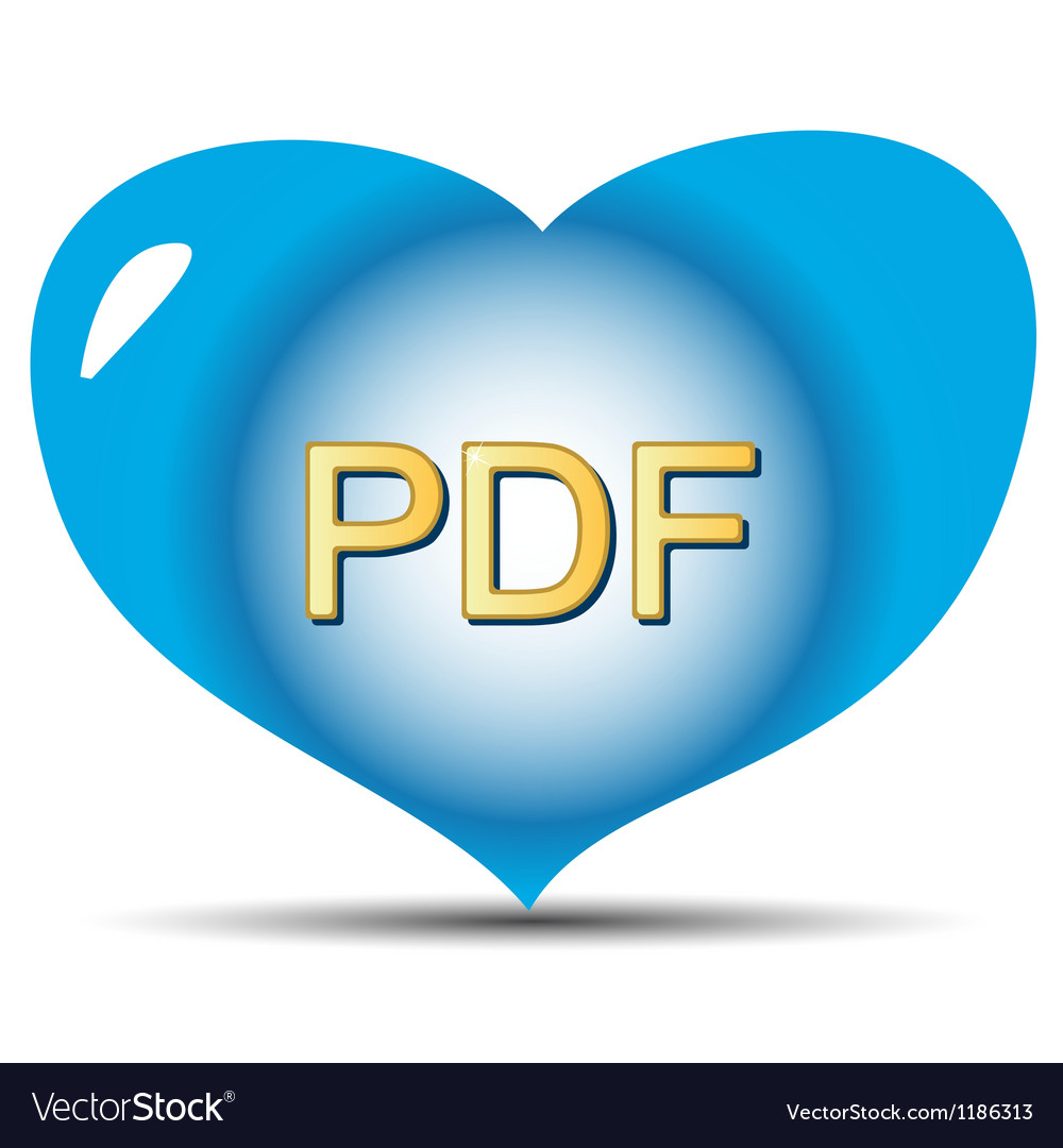 I love pdf vector | Price: 1 Credit (USD $1)