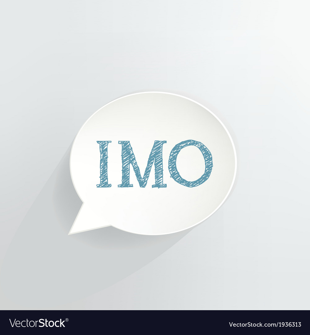 Imo vector | Price: 1 Credit (USD $1)