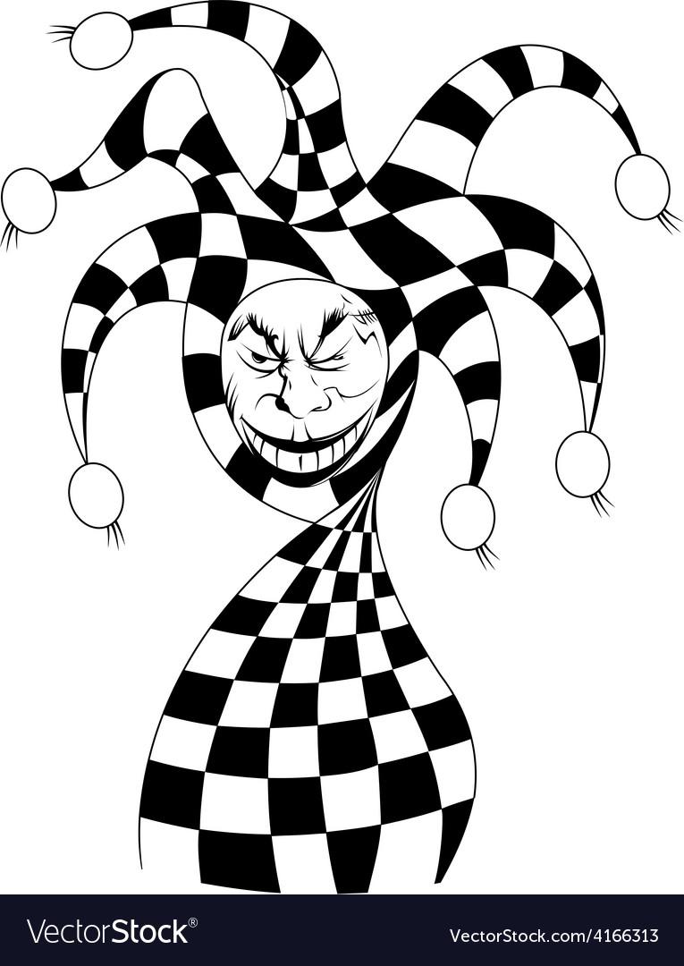 Joker cartoon vector | Price: 1 Credit (USD $1)