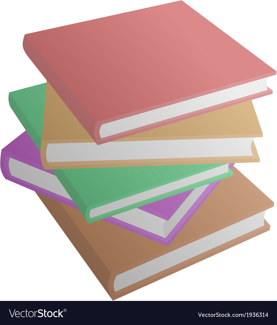 Plain book vector | Price: 1 Credit (USD $1)
