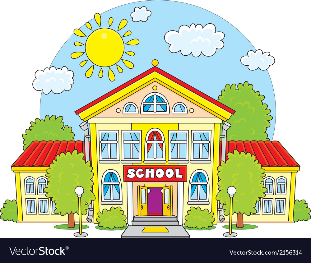 School vector | Price: 1 Credit (USD $1)