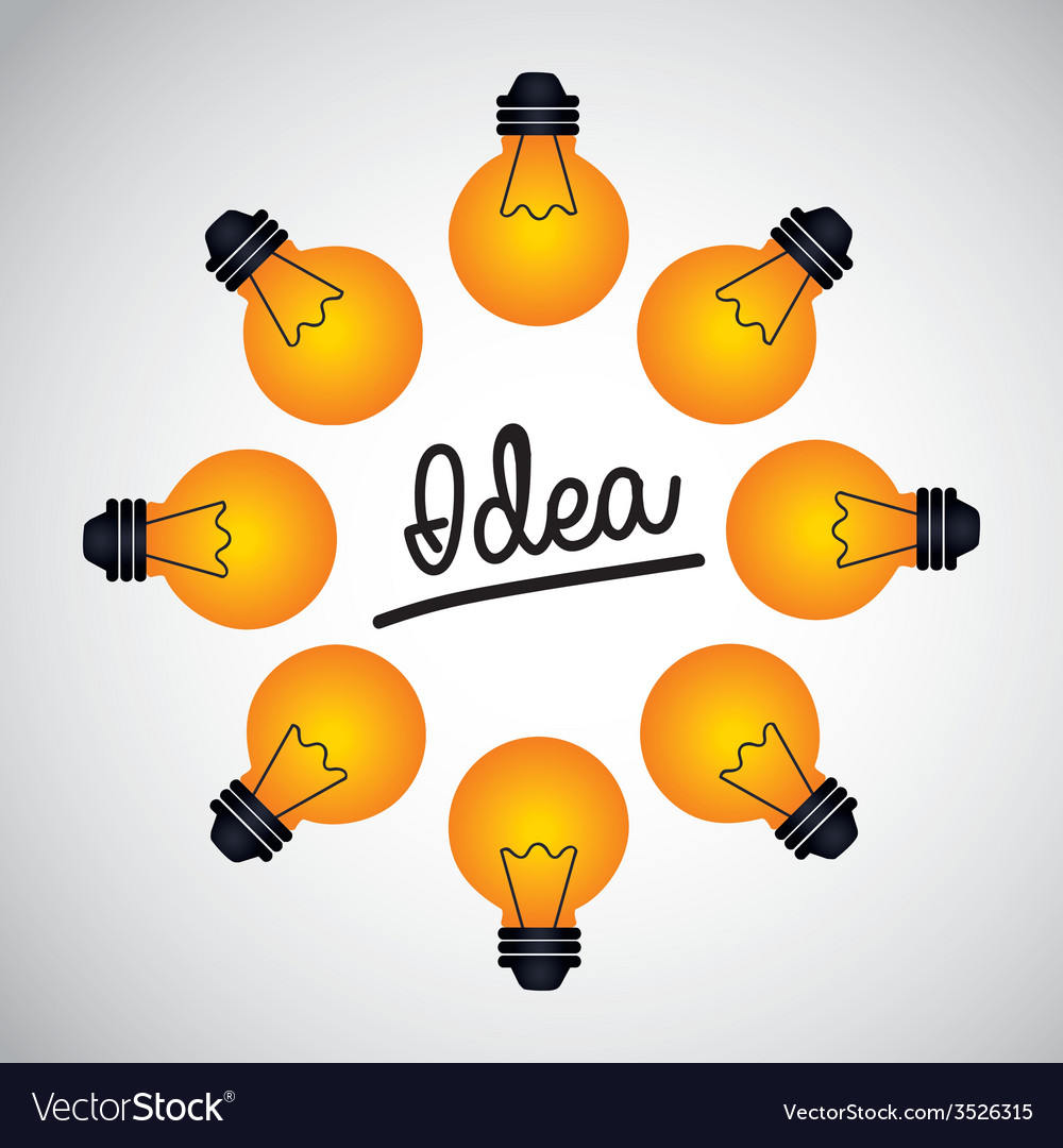 Great idea design vector   Price: 1 Credit (USD $1)