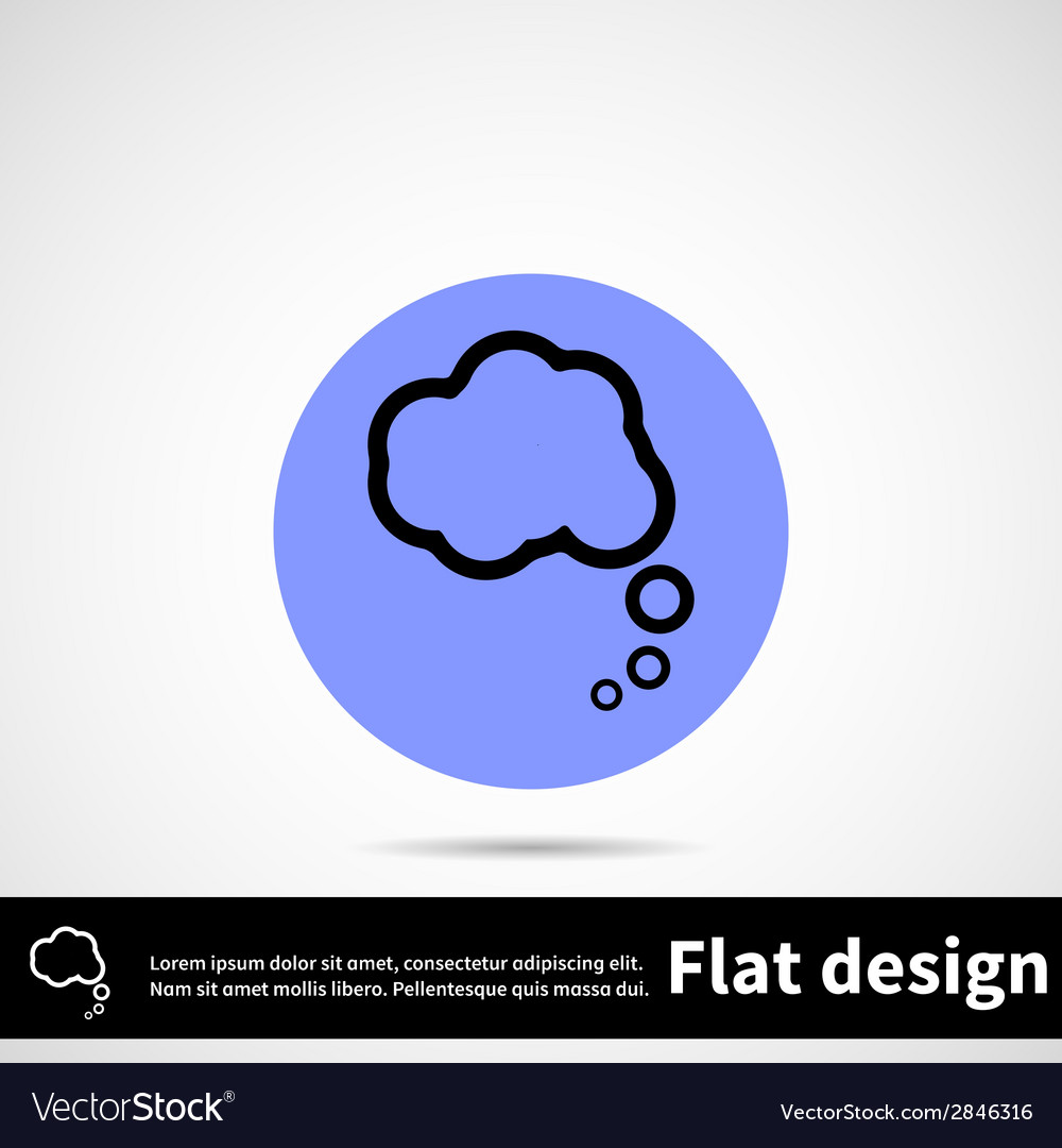 Icon flat design vector | Price: 1 Credit (USD $1)