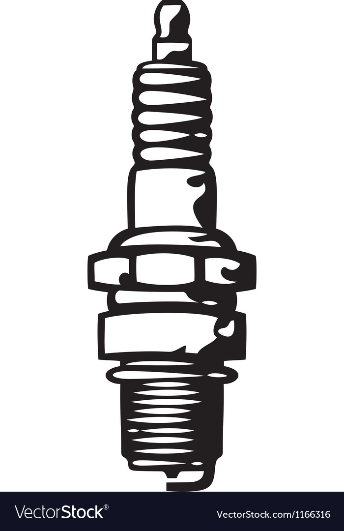 Spark plug vector | Price: 1 Credit (USD $1)