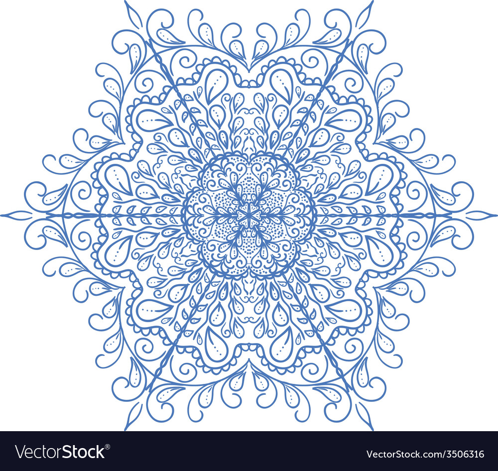 Vintage ornament can be used as a greeting card vector | Price: 1 Credit (USD $1)