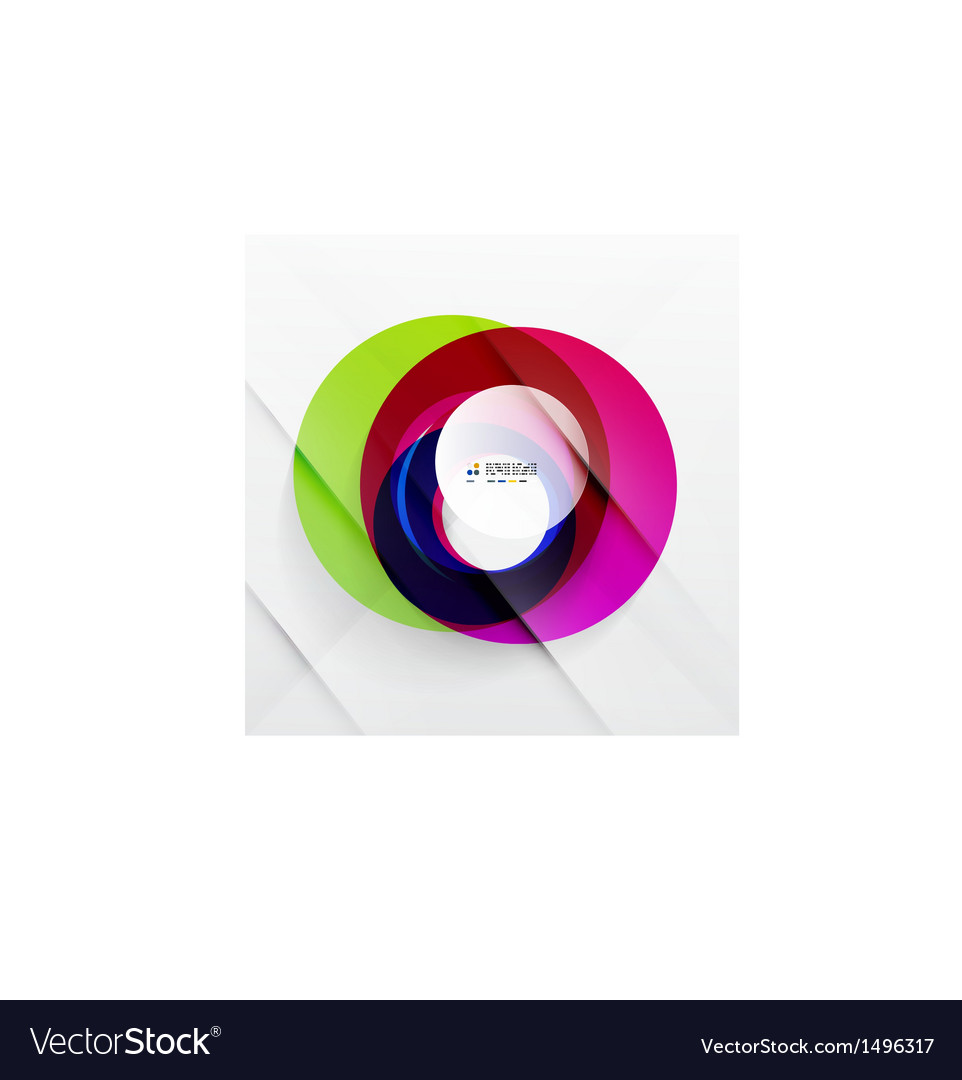Abstract flowing shapes modern colorful design vector   Price: 1 Credit (USD $1)