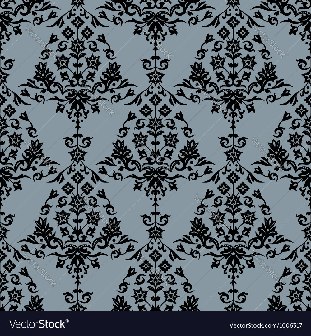 Background with seamless pattern vector | Price: 1 Credit (USD $1)
