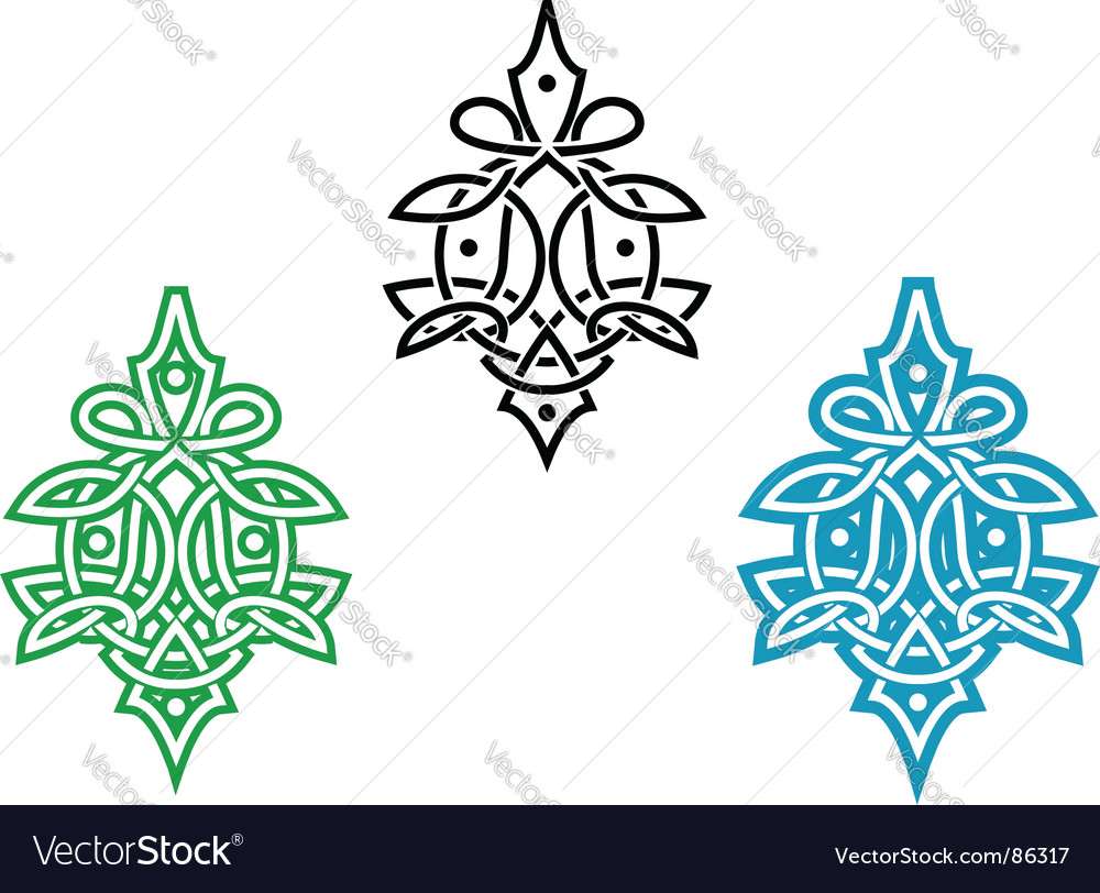 Celtic ornament vector | Price: 1 Credit (USD $1)