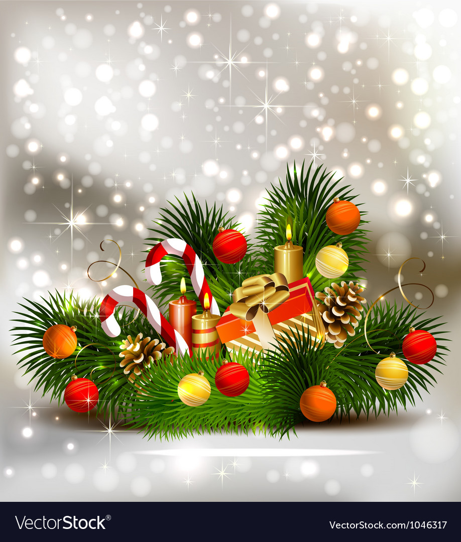 Christmas still life vector | Price: 3 Credit (USD $3)